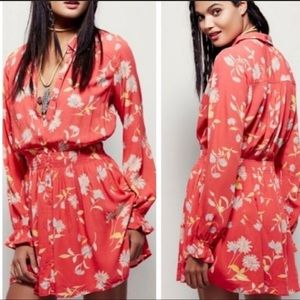 FREE PEOPLE Spring Floral Dress